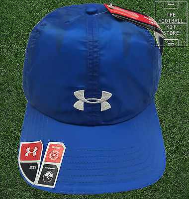 Under Armour Running Cap - Heatgear - One Size - Blue/White