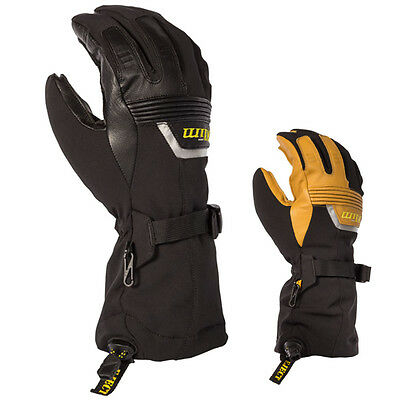 Klim Fusion Snowmobile Snow Sled Winter Mens Cold Weather Casual Gloves