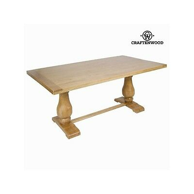 Table victoria en orme - Collection Serious Line by Craften Wood