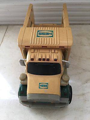 2008 Hess Gasoline Collectible Toy Truck missing one tire no sound or light