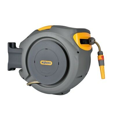 Hozelock 2490 20m Auto Retractable Wall Mounted Hose Reel with 180 Degree Pivot
