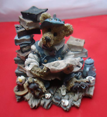 Boyds Bears and Friends Otis at Tax Time 1994 15E/907 Perfect collectable