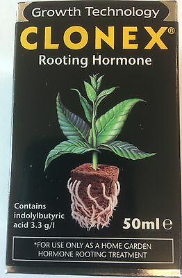 Clonex Rooting Hormone Gel For Cuttings 50Ml Fresh Batch Exp. 04/2019,
