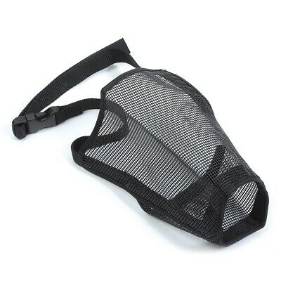 Ancol Soft Dog Muzzle - 7 Sizes Soft Comfortable Breathable Mesh Muzzle