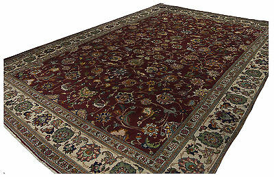 376x283 CM Tappeto Carpet Tapis Teppich Alfombra Rug (Hand Made)