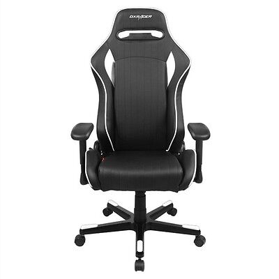DXRacer D-Series OH/DF51/NW Silla Gaming Negro/Blanco