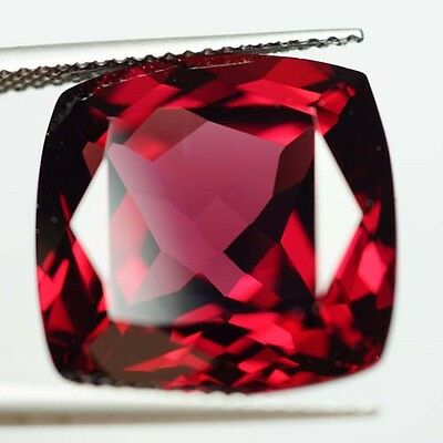 20.77 ct.Outstanding Color! Natural Red Rhodolite Garnet Tanzania {video}RD008