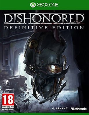 Microsoft Xbox One-DISHONORED DEFINITIVE EDITION  GAME NEW