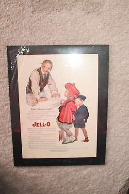 """Vintage """"What Mama Said"""" Jell-O Advertisement Genesee Food Co"""