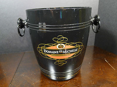French Domaine Ste. Michelle Champagne Wine Aluminum Ice Bucket