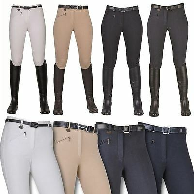 HKM 3364 Jodhpurs - Ladies Horse Riding Show Jumping Competition Breathable Jods