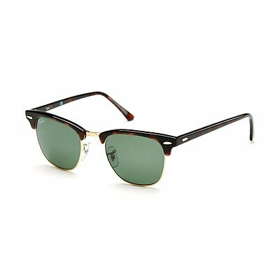 Ray-Ban RB3016 W0366 Clubmaster Tortoise / Green Classic 51mm Lens Sunglasses