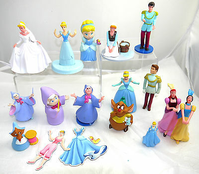 Great Lot Of Disney Cinderella Toys Figures Lot Toy