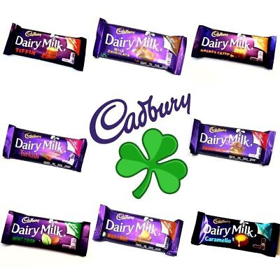 Cadbury Dairy Milk Mint Crisp Golden Crisp Caramello Tiffin Chocolate Ireland