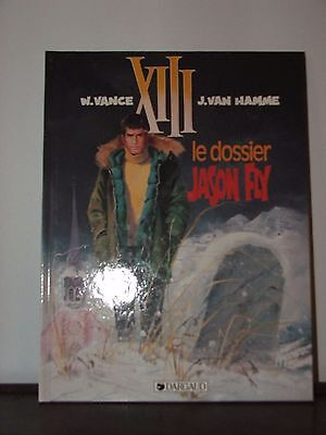 Xiii / Vance & Van Hamme / Tome 6 : Le Dossier Jason Fly / 1990 / Tbe / Eo