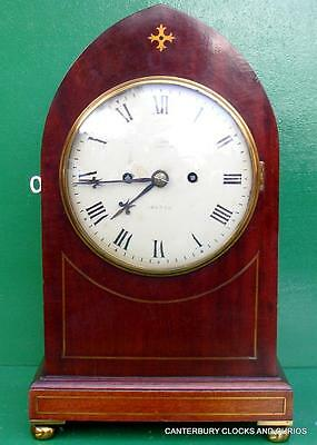 Goldsmiths And Silversmiths Co Ltd 112 Regent St London Twin Fusee Bracket Clock