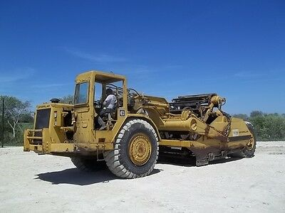 Caterpillar CAT 623B Elevating Motor Scraper; Good Running Machine