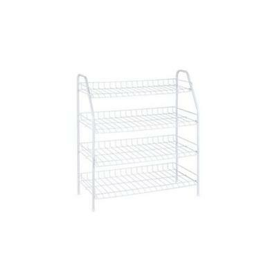 HONEY-CAN-DO SHO-05269 4Tier Wire Shoe Rack Shelf