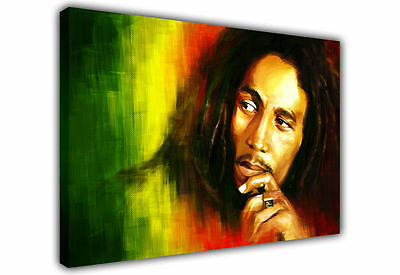 """Bob Marley Canvas Painting Wall Art Picture Print Portrait 20""""x24"""""""