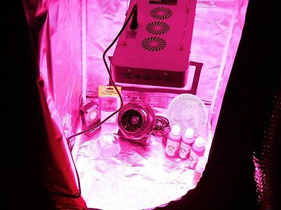 LED Grow Tent Kit, Complete LED Indoor Growing System, 80x80x160 Grow Tent