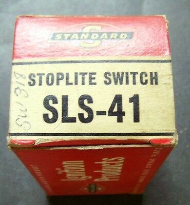 1951-54 Chevrolet Stop Light Switch - Standard Ignition Part No. SLS-41 - SW 318