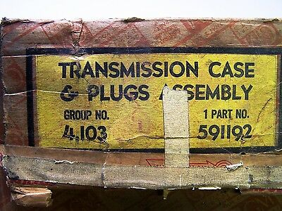 1941 - 1948 General Motors All Models NOS Transmission Case and Plugs Assembly