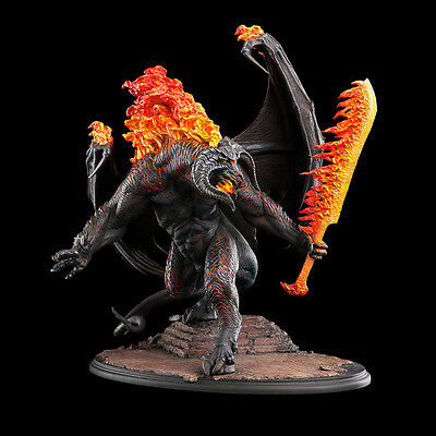 LORD OF THE RINGS - The Balrog Demon of Shadow and Flame Statue Weta