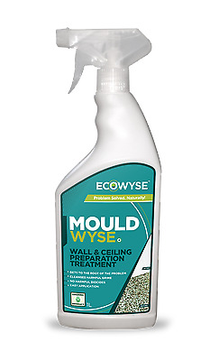 1 Litre Spray Ecowyse Mouldwyse Organic Mould Treatment For Walls And Ceilings