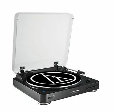 Audio-Technica AT-LP60BK-BT Turntable with Bluetooth Black ATLP60BKBT