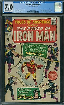 Tales of Suspense 57 CGC 7.0 - OW/W Pages