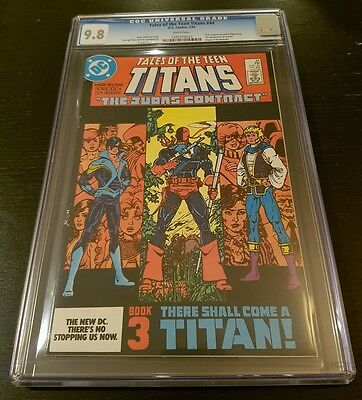 TALES OF THE TEEN TITANS #44 (1984 D.C.) CGC 9.8 W.P. *1st APP. OF NIGHTWING*