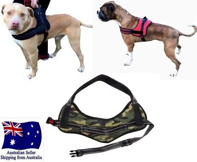 Control Dog Harness Large S M L XL 2XL Stop Pulling Adjustable Training Pet  Car