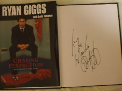 Ryan Giggs Signed Book Rare