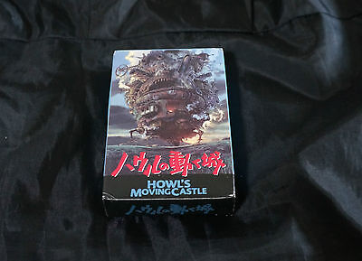 Howl's Moving Castle -54 movie scenes playing cards No586 -Genuine Studio Ghibli