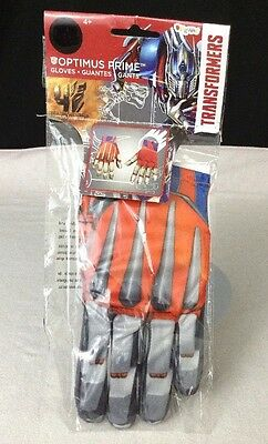 Transformers 4 Age of Extinction Optimus Prime Adult Costume Gloves 73563