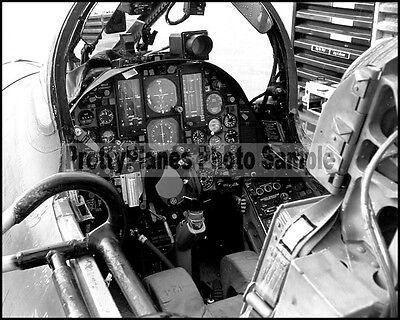 Republic F-105 Thunderchief Cockpit Layout 8x10 Photo