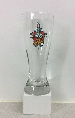 Hard Rock Est London 1971 Cafe 25 Years Weizen Beer Glass Fast Ship