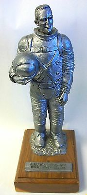 "Michael Ricker Astronaut  Pewter Statue #212/1500 ""America's Courage"""