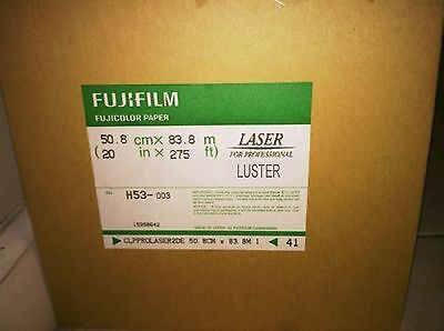 Fuji Crystal archive 50.8cm x 83.8mtr roll Luster