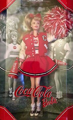 COCA-COLA CHEERLEADER BARBIE DOLL by Mattel 2000 Collector's Edition - NEW