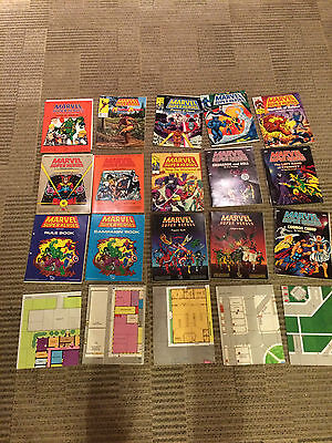 TSR Marvel Roleplaying RPG Game HUGE LOT Mysteries of Magic Advanced Basic