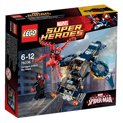 MARVEL SUPER HEROES LEGO 76036 ULTIMATE SPIDER-MAN  SHIELD SKY Attack (NEW)