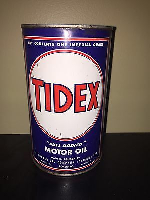 Tidex Motor Oil Can