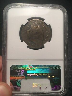 1787 New Jersey Colonial Copper Cent Coin - NGC Graded