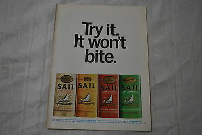 Sail Pipe Tobacco 1967 Playboy Magazine ad - Very Good