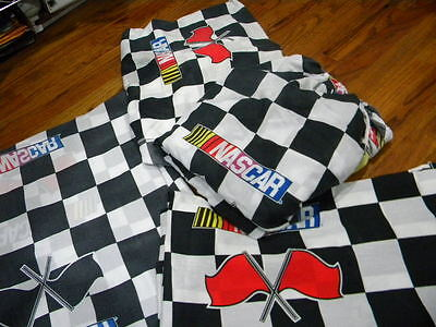 Nascar 4 Piece Twin Bed Set No Pillow Cases