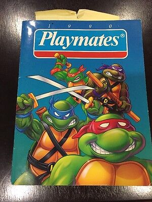 Vintage 1990 Playmates Toy Dealer Catalog TMNT Dick Tracy THE BLANK Barnyard