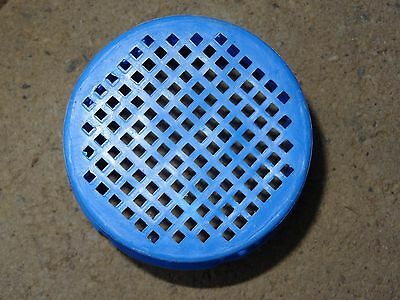 USED Intex SMALL SIZE Strainer Grid Mesh Plastic Debris Cover ONLY for Inlet