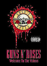 Guns N' Roses - Welcome To The Videos Dvd Brand New & Factory Sealed