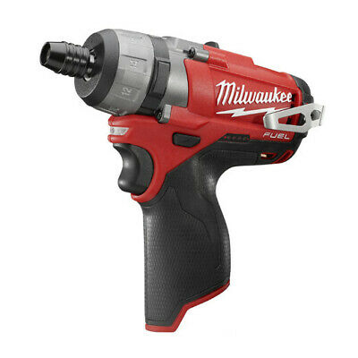 "Milwaukee M12 FUEL 12V Li-Ion 1/4"" Hex 2speed Screwdriver(Bare Tool) 2402-20 New"